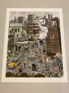 Scott C Campbell Ghostbustland Ghostbusters scottlava art print Mondo artist