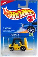 Hot Wheels No. 475 Forklift Yellow w/5SP's & BW's MOC