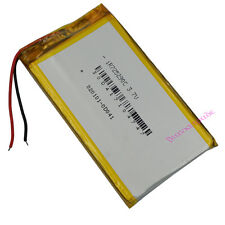3.7V 4000 mAh Polymer Li Battery Li-po For Mp4 GPS DVD PSP ipod Tablet PC 725290