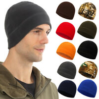 Unisex Men Women Winter Warm Casual Outdoor Hat Fleece Ski Beanie Skull Cap