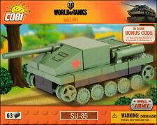 COBI SU-85 Nano Tank (3020) - 63 elem. - WWII Soviet tank destroyer