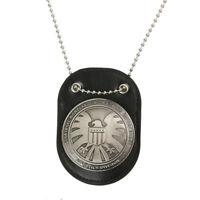 Official Agents of shield S.H.I.E.L.D. Metal SHIELD Badge Pin & Badge Holder