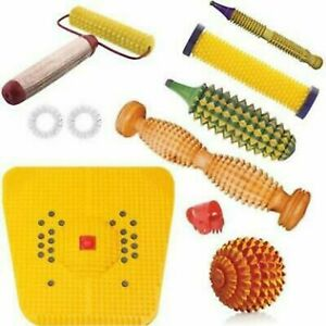 Acupressure Tools Kit Combo With Power Mat Massager, Thumb Jimmy, Hand Roller
