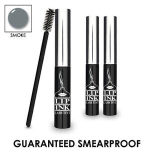 LIP INK Genuine Semipermanente Impermeable Tinta para pestanas Smoke Gris o