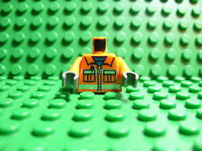 Lego NEW Orange Torso -- construction worker