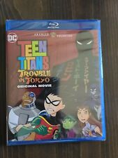 Teen Titans: Trouble in Tokyo Original Movie [Blu-ray] Brand New Sealed