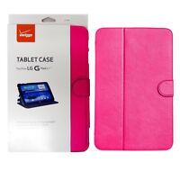 Verizon Folio Leather Protective Case Magnetic Closure for LG G Pad 10.1 LTE