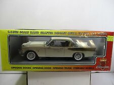 1/18 MOTOR CITY CLASSICS 1957 STUDEBAKER GOLDEN HAWK ARCTIC WHITE