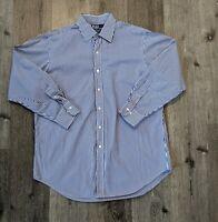 Polo Ralph Lauren Curham Mens Large Shirt Button Down Long Sleeve Stripe Cotton