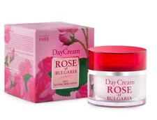 Day Cream 50ml With Natural Bulgarian Rose Water Softening and Regenerating Skin