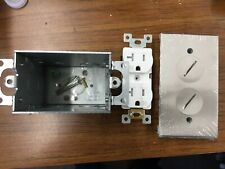 Vintage GE General Electric Floor Outlet Box Housing Unit SS 400 RG C5407238
