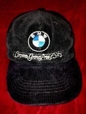 "VTG. BMW CORDUROY SNAPBACK HAT ""CORPORATE GRAND PRIZE"" HAT SUPER RARE"