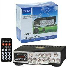 KINTER 009 AMPLIFICATORE INGRSSO MICROFONO USB SD AUX MP3 LOUDNESS STUPENDO CASA