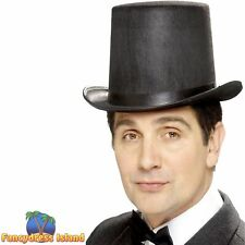 Stovepipe Topper Hat Victorian Historical Men's Fancy Dress Costume