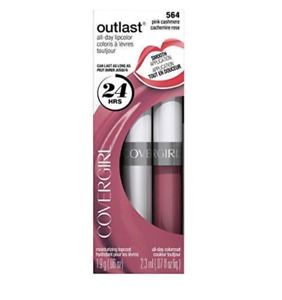 2 of Covergirl Outlast All Day Two Step Long Lasting Lipcolor 564 Pink Cashmere