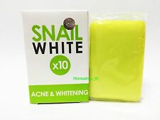 Gluta,Glutathione,Soap Snail White Acne & Whitening Spots Damage Skin Face,Body