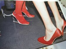 NEW! Maison Martin Margiela X H&M Invisible Wedge Shoes UK 6/EU 39 in Red