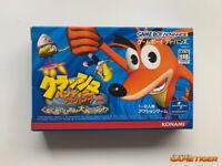 CRASH BANDICOOT ADVANCE 2 Konami GBA Nintendo Game Boy Advance JAPAN