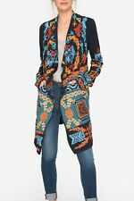Johnny Was Yalen Embroidered Wrap Long Knit Cardigan #B50817 New Boho Chic