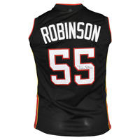 Duncan Robinson Signed Miami Pro Black Basketball Jersey (JSA)