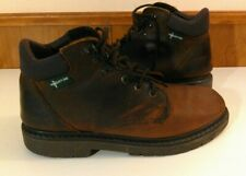 Eastland Men's 10.5 Brown Leather Soft Toe Ankle Boots