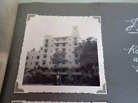 Vintage Photo of the Moana Hotel Honolulu Hawaii 1954
