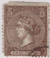 Spain,Edifil#83,19cu,used,E=565 euros