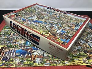 1991 City Of London Don Scott Puzzle Buffalo Games 513pc England Complete