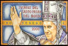 VATICANO 2007 LIBRETTO VIAGGI NEL MONDO PAPA BENEDETTO XVI Ratzinger Germania
