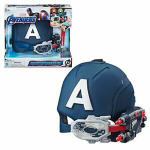 Marvel Avengers Endgame Captain America Scope Vision Helmet