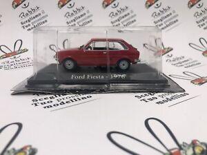 "DIE CAST "" FORD FIESTA - 1976 "" SCALA 1/43 RBA AUTO INDIMENTICABILI"