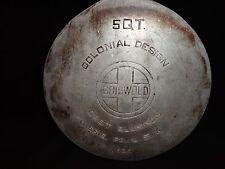 Vintage GRISWOLD 5 Quart Cast Aluminum A535 Tea Kettle Erie. Pa. Colonial Design