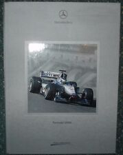FORMULA UNO MCLAREN MERCEDES MP4 - 15 F1 2000 KIT di supporti di stampa CD-ROM pressemappe -