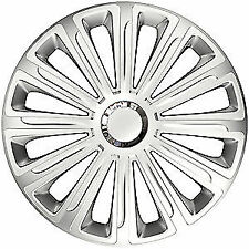"""16"""" TREND RC SILVER WHEEL TRIMS COVERS X4 for AUDI A4 CABRIOLET 06-09"""