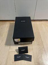 Authentic SAINT LAURENT YSL Empty Shoe Gift Storage Box 14x8x5.25 w/ Card