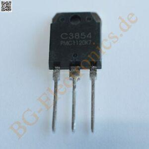 2 x 2SC3854 & 2SA1490 4 complementary transistors 80W 120V 8A 120V PM TO-3P 4pcs