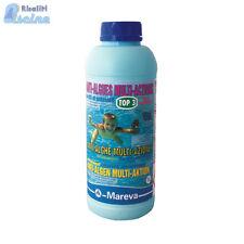 Alghicida antialghe TOP 3 non schiumogeno Mareva 1 L piscina e idromassaggi