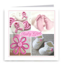New Baby Girl Greeting Card - Congratulations