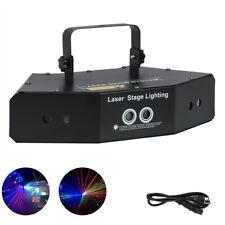 6 Lens Scan Laser Light Line Beam RGB for DMX DJ Dance Bar Coffee Xmas Home