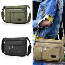 Men Canvas Messenger Vintage Crossbody Bags Shoulder Casual outdoor Travel Bag