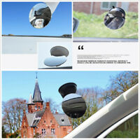 360° View Adjustable Non-Frame Rear Mirror Black For Baby Safety Car Accessories