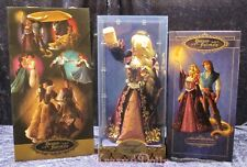Disney Designer Fairytale Collection Doll  Rapunzel and Flynn Limited Edition!
