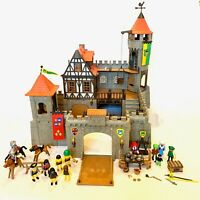Playmobil 3666 Knights Large Castle Steck Near Complete
