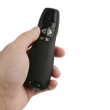 USB Wireless PPT Slideshow Presenter R400 Laser Pointer Remote Control ZH