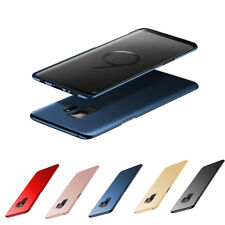 Ultra Dünn Hardcase Samsung Galaxy S9 Plus S9+ Schutzhülle Cover Bumper Feinmatt