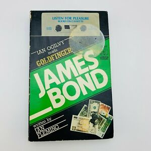James Bond Books on Cassette | Ian Fleming's Goldfinger | Ian Ogilvy 1985
