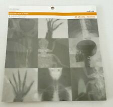"""Recollections 8 x 8"""" Halloween Vellum Paper Pad X-Ray Skeleton Bugs Teeth New"""