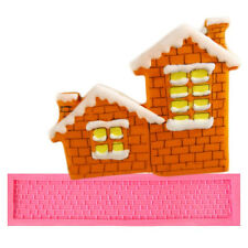Brick Wall Texture Fondant Tools Cake Silicone Molds Mould Lace Sugarcraft Fimo
