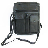 Men's Leather Bag Cross Body Messenger Travel Organizer Kit Phone Purse Satchel