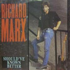 "Richard Marx(7"" Vinyl)Should've Known Better-EMI Manhattan-MT32-UK-1987-Ex/NM"